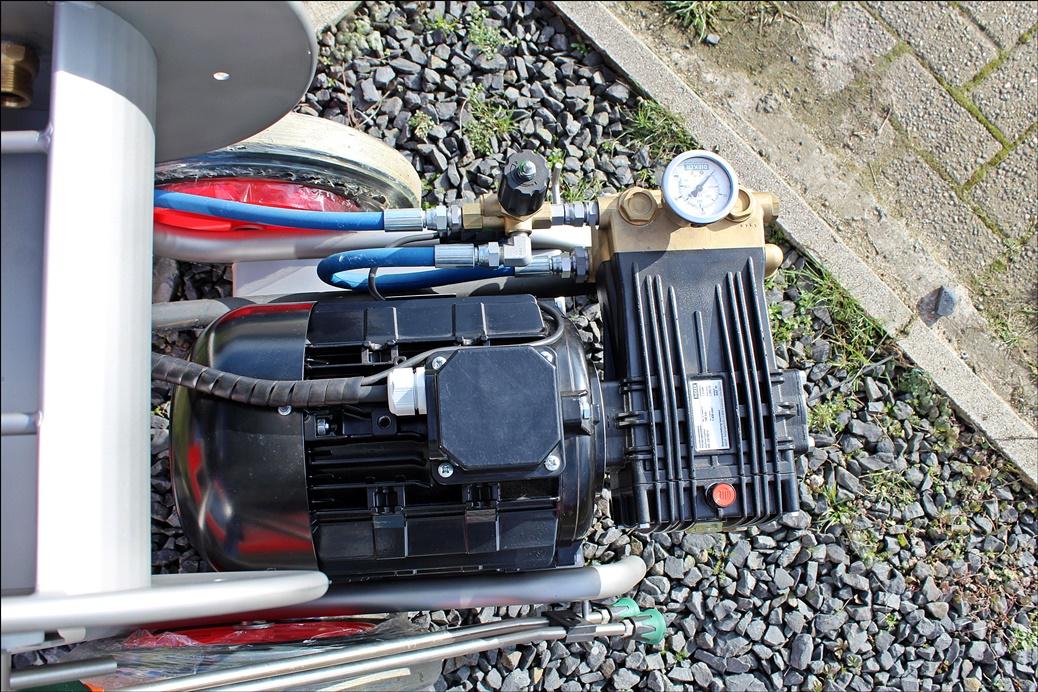 DIEKER Hochdruckreiniger Midi HD-E 25/180