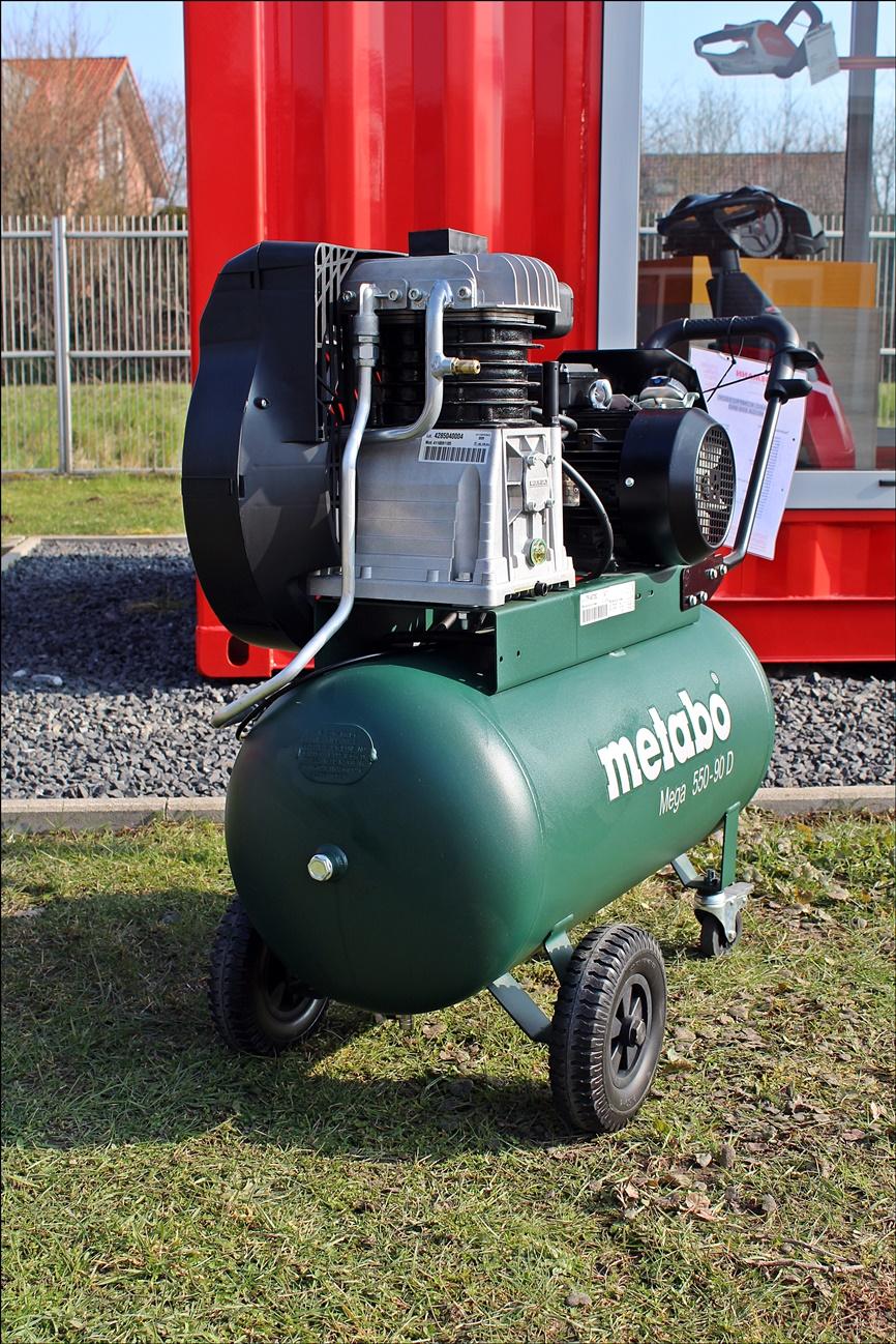 Metabo 550-90 D Kompressor Mega