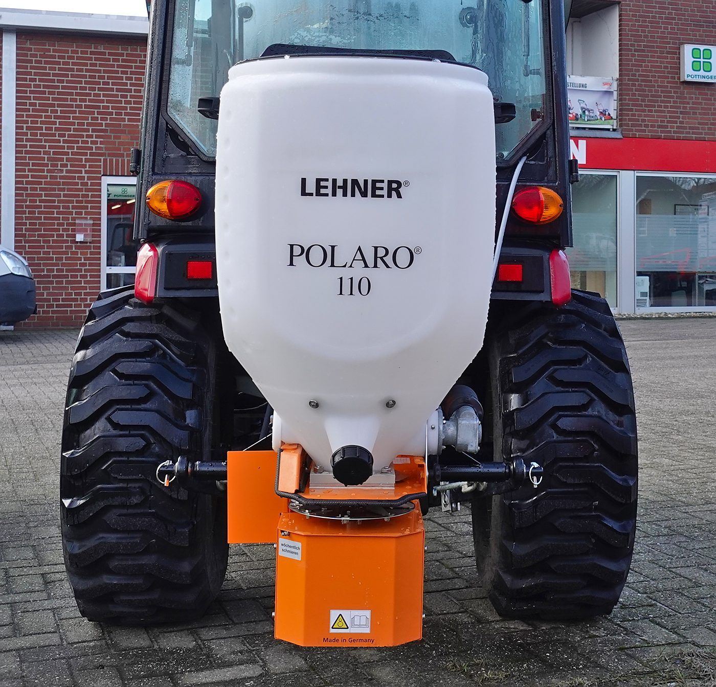 Lehner Polaro 110 Salzstreuer Granulatstreuer