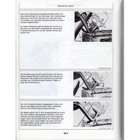 Bedienungsanleitung Hochdruckpresse John Deere 359