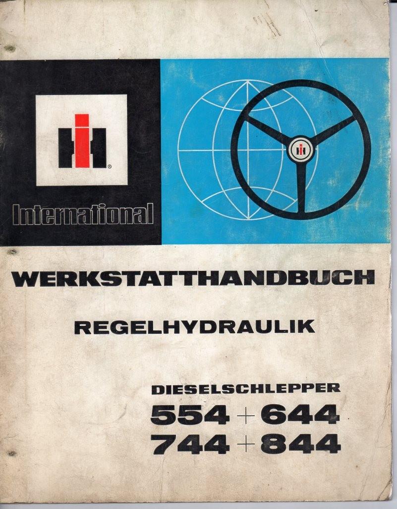 Werkstatthandbuch Regelhydraulik Traktoren International