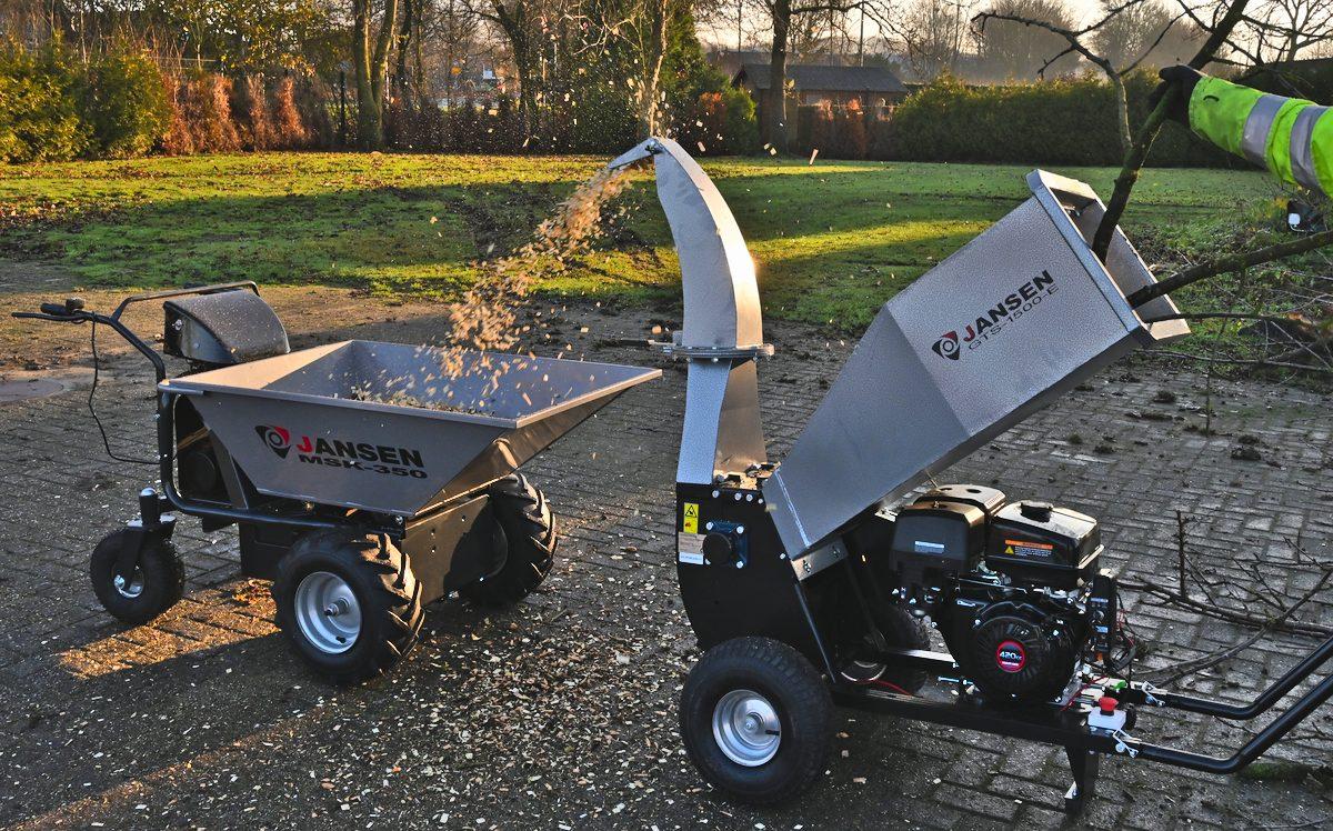 Gartenhäcksler Jansen GTS-1500E